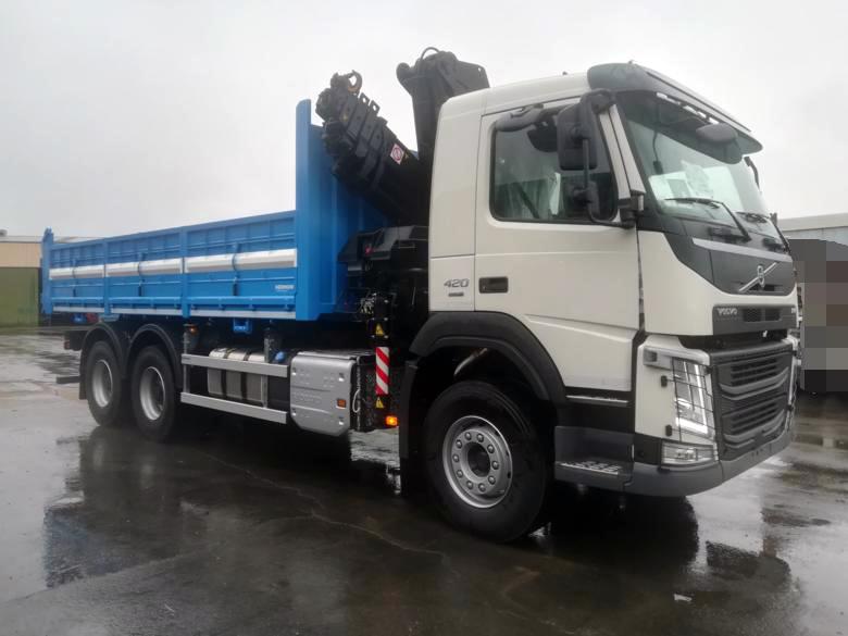Volvo FM + Hiab 175-5 + Basculante