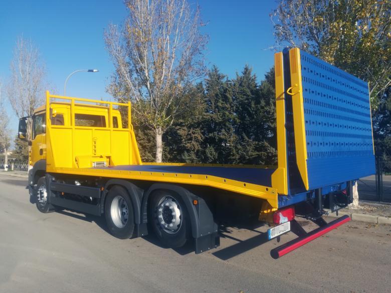 MAN TGS + Plataforma Porta-Maquinaria/Porta-Vehículos