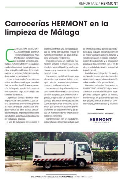 Reportaje Hermont - Equipamientos y Servicios Municipales