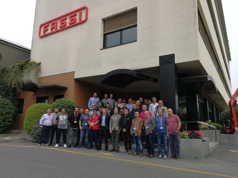HERMONT visita la fábrica FASSI (Italia)