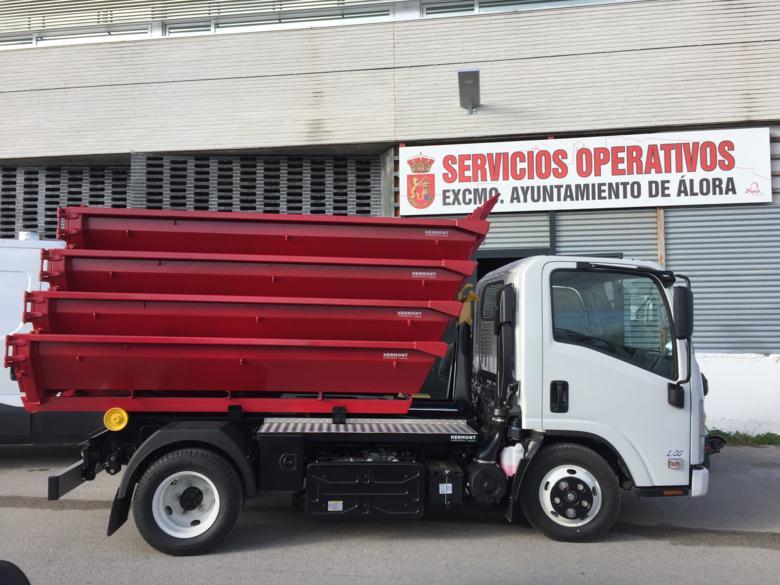 Presentación nuevo vehículo Ayuntamiento de Álora