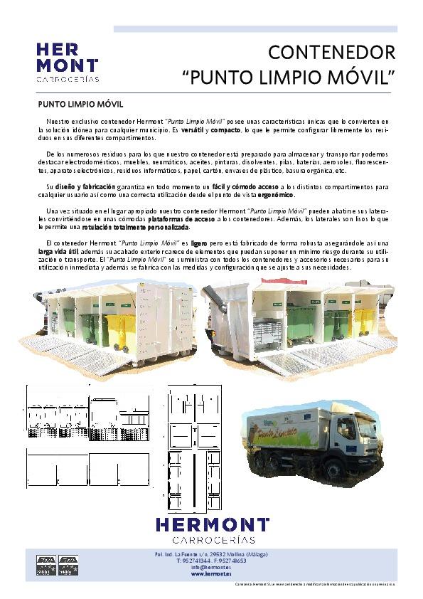 Punto Limpio Móvil (Container)