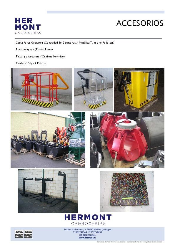Accesorios Vehículo Industrial / Obras
